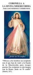 Coronilla a la Divina Misericordia para los enfermos y moribundos