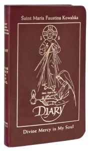 Diary of Saint Maria Faustina Kowalska, Deluxe Burgundy Leather