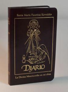 Diario de Santa Faustina Kowalska edición en cuero