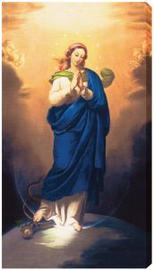 Immaculate Conception 10 x 18 Canvas Print