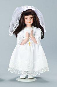 muñeca Para la Primera comunión