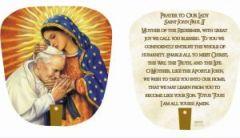 Abanico de Nuestra Señora de Guadalupe y  San Juan Pablo II