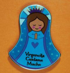 Imán con la imagen de Nuestra Señora de Guadalupe