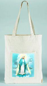 Bolso de tela con la imagen de Nuestra Señora de la Gracia