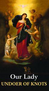 Mary, Undoer of Knots Prayer Card