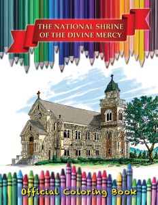The National Shrine of The Divine Mercy Official Coloring Book