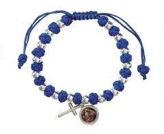 Our Lady Undoer of Knots Cord Bracelet