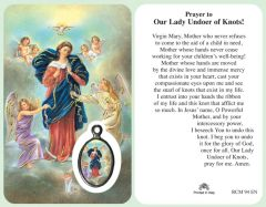 Our Lady, Undoer of Knots Prayercard