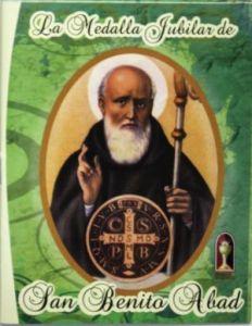 Este libro le ayudará a conocer más sobre la Medalla Jubilar de San Benito de Abad
